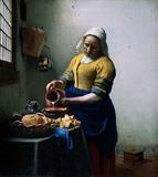Johannes Vermeer, The Milkmaid, ca.  1660.  Amsterdam, Rijksmuseum.
