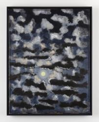 Stephen McKenna, Moonlight with Small Clouds, 2000, oil on canvas, 65 x 50 cm / 25.6 x 19.7 in, 67.3 x 52.5 x 4 cm framed / 26.5 x 20.7 x 1.6 in framed