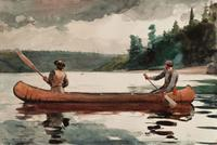 "Winslow Homer (United States, 1836 - 1910), ""Young Ducks"", 1897.  Watercolor on paper, 14 x 21 inches.  Portland Museum of Art, Bequest of Charles Shipman Payson."
