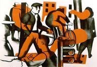John Wilson, Boulevard de Strasbourg, 1950, Color lithograph, 12-3/4 x 18-3/4 inches