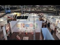 The Armory Show.  Photo via Bloomberg.