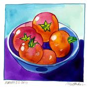 Fine Art Daily,tomato harvest