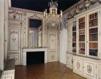 THE LIBRARY FROM THE HÔTEL GAULIN, DIJON, ATTRIBUTED TO JEROME MARLET.  French.  Circa 1770.