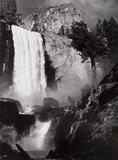 Ansel Adams (1902–1984) Vernal Fall, Yosemite Valley, California, ca.  1948 From What Majestic Word, In Memory of Russell Varian, Portfolio IV (1963) Gelatin silver print ©2010 The Ansel Adams Publishing Rights Trust Amon Carter Museum, Fort Worth, Texas P1966.11.6