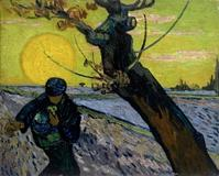 Vincent van Gogh (1853–1890) The Sower (1888), from the Van Gogh Museum in Amsterdam.