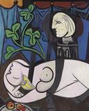 """Picasso's 1932 painting """"Nu au Plateau de Sculpteur (Nude, Green Leaves and Bust)."""""""