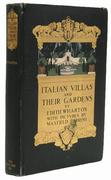 PARRISH, Maxfield, illustrator .  WHARTON, Edith (1862-1937).  Italian Villas and their Gardens.