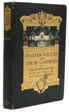 PARRISH, Maxfield, illustrator .  WHARTON, Edith (1862-1937).  Italian Villas and their Gardens.
