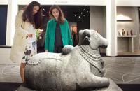 Marcel Nies Oriental Art stand at TEFAF 2014