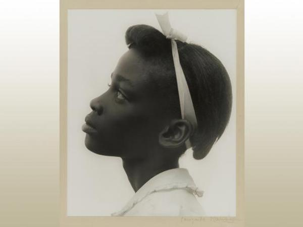 Consuelo Kanaga, Young Girl in Profile, 1948.  Gelatin silver print.  The Howard Greenberg Collection—Museum purchase with funds donated by the Phillip Leonian and Edith Rosenbaum Leonian Charitable Trust.  © Estate of Consuelo Kanaga