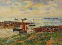 Henry Moret Impressionist Painting