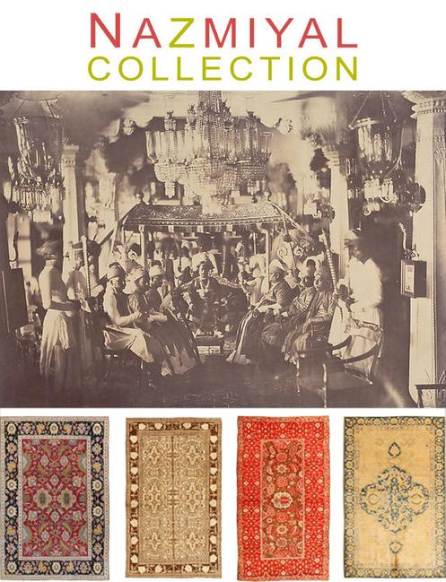 19th Century Photograph by Captain Linnaeus Tripe, Antique Indian Rugs by Nazmiyal Collection