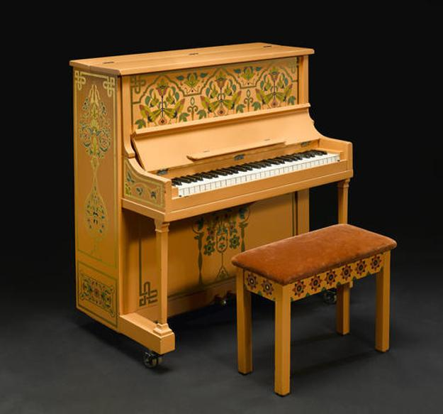 "The piano from Casablanca on which Sam plays ""As Time Goes By"" Sold for US$ 3,413,000 inc.  premium"