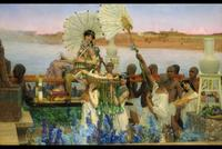 Sir Lawrence Alma-Tadema's The Finding of Moses had been estimated to sell for $3/5 million.