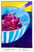 Fine Art Daily, cranberry jelly