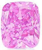 The Vivid Pink diamond at Christies