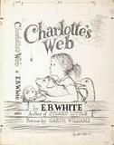 The cover art for Charlotte's Web brought an auction record for artist Garth Williams of $155,000.