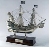 "Lot 1193 - Silver Model of the ""Mayflower"""