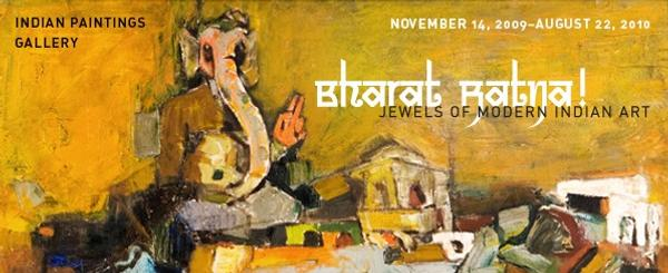 Bharat Ratna!Jewels of Modern Indian Art opens November 14.