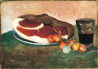 The Ham, 1889 by Paul Gauguin.The Phillips Collection, Washington, DC