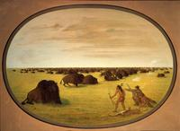 George Catlin at the White House