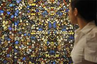 From Damien Hirst's Butterflies series. Getty Image.