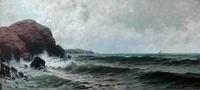 A.T.  Bricher, The Coast of Maine at Loew Demers auction Oct.  23.