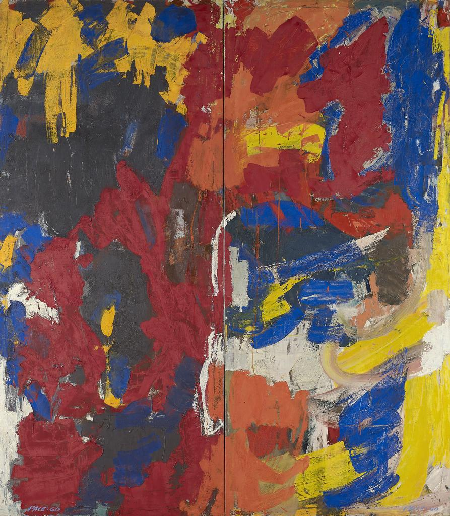 Stephen Pace, Untitled (60-17), 1960, Oil on Canvas, 81 x 70 in.