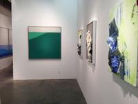 Installation View of Susan Vecsey and James Walsh at Berry Campbell