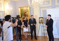 Press Conference at Polish Embassy