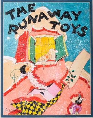 Lot 218 The Runaway Toys by Fern Bisel Peat c.1932