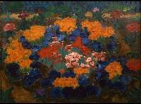 Emil Nolde, Blumengarten