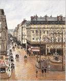 Rue St.-Honore, Apres-Midi, Effet de Pluie by Camille Pissarro