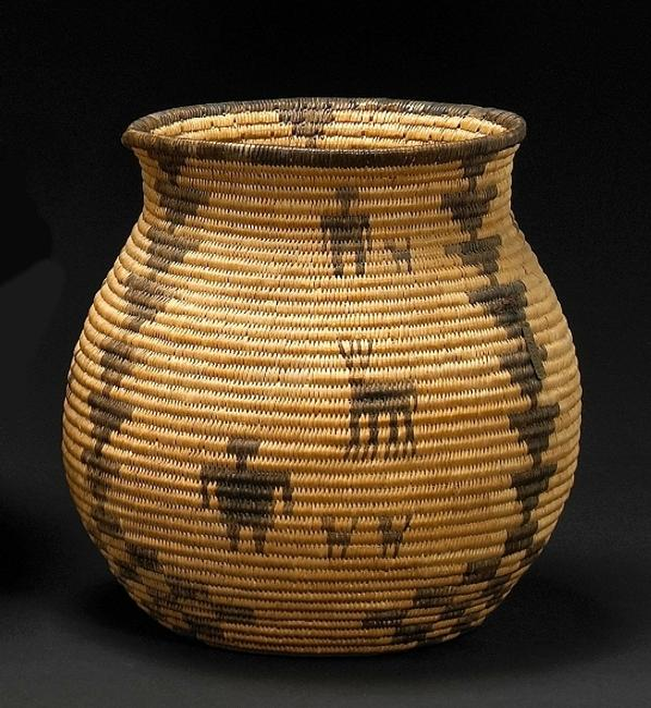 The Sept.  13 sale will feature a 9-inch tall Apache basket, est.  $1,800-2,400.