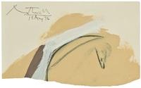 Robert Motherwell self-portrait at Bloomsbury Auctions