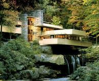 Frank Lloyd Wright's Fallingwater in Western Pennsylvania.