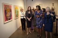 G-20 spouses at the Andy Warhol Museum