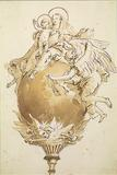 Tiepolo's remarkable drawing The Virgin and Child Seated on a Globe