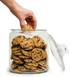 hand in the cookie jar