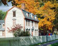 Dwight House in Fall, Historic Deerfield, Photo from flickr