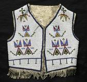 Sioux beaded vest sold in 2004 by Cowan's Auctions.