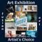 3rd Annual Artist's Choice Art Exhibition Opened August 1, 2018 www.fusionartps.com