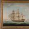 This gorgeous oil on canvas marine rendering by Thomas Buttersworth (Br., 1768-1842) is expected to bring $20,000-$30,000.