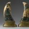 Pair of masterpiece scrimshaw whale's teeth by whaleman Eli Bangs, Jr.