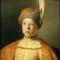 Lievens (1606-1674), Boy in a cape and turban (Portrait of the Prince Rupert of the Palatinate) , ca.  1631, oil on panel, 66,7 x 51,7cm © New York, The Leiden Gallery