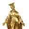 This large gilt bronze statue of the Virgin Mary, shown trampling a serpent on an orb, 40.5 inches tall, is expected to sell for $5,000-$7,000.