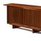 Lot 16: $40,625.  George Nakashima (1905-1990), special triple sliding door cabinet, 1959.