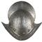 Rare, 16th century Spanish (or Italian) combed morion, or tall dome-shaped infantry helmet, profusely etched ($7,675).