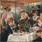 Pierre-Auguste Renoir, Luncheon of the Boating Party, 1880–81.  Oil on canvas, 51 1/4 x 69 1/8 in.  The Phillips Collection, Washington, DC, Acquired 1923