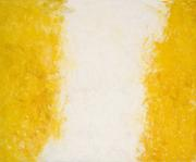 "Deseret, 1959, Oil on canvas, 58 x 70 inches, Signed lower left: ""Stamos"""